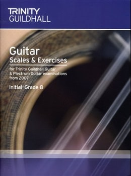 Guitar and Plectrum Guitar Scales and Exercises Initial-Grade 8