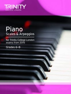 Book 2 Trinity College London piano scales and arpeggios 2015