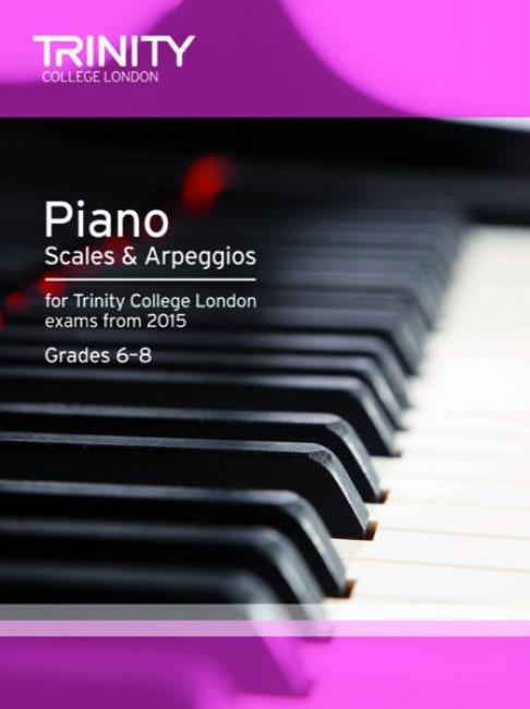 Book 2 Trinity College London piano scales and arpeggios 2015