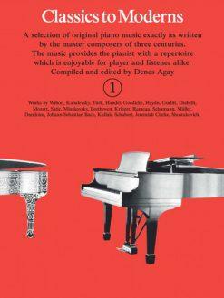 classics to modern piano book 1