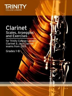 Clarinet Scales and Arpeggios from 2015