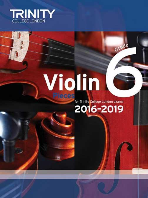 Violin 2015-2019 Grade 6 Score & Part
