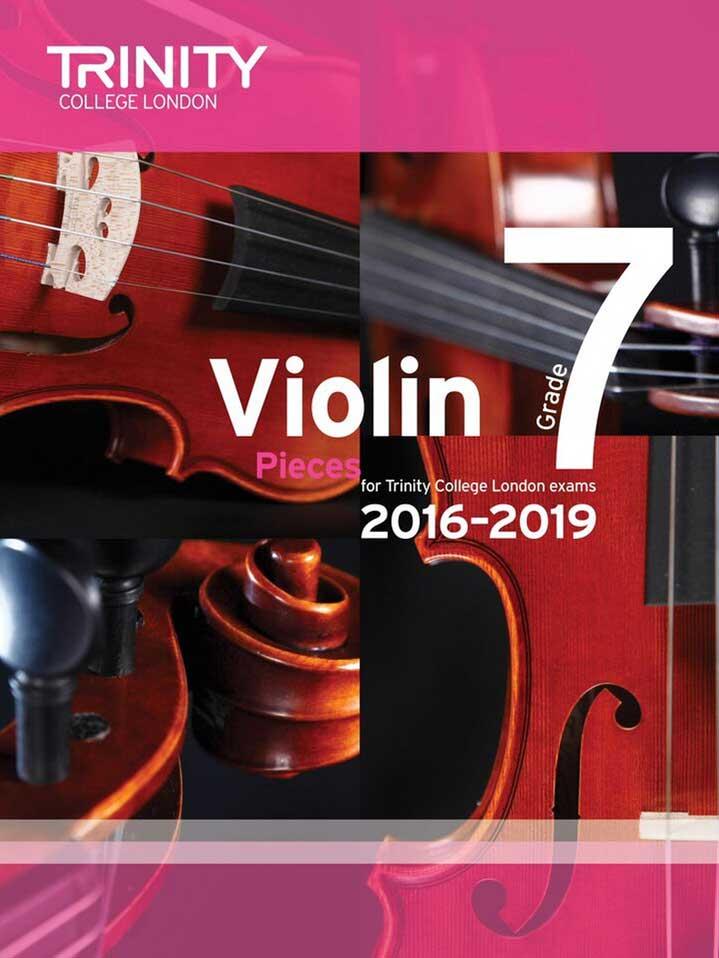 Violin 2015-2019 Grade 7 Score & Part
