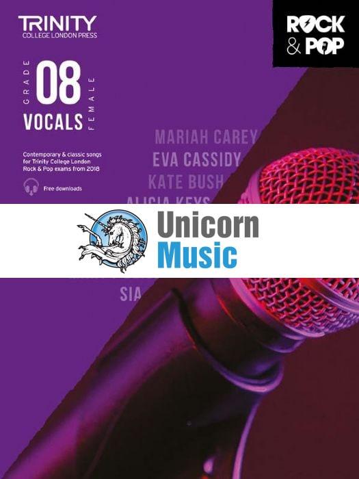 trinity rock pop 2018 vocals female grade 8