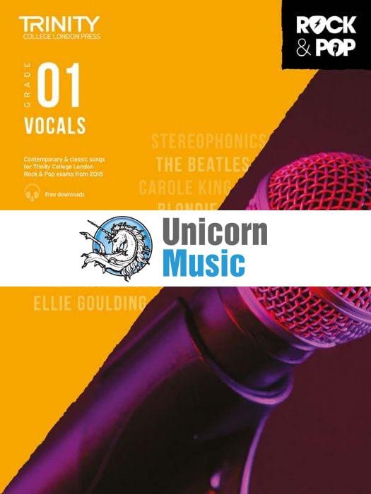 trinity rock pop 2018 vocals grade 1