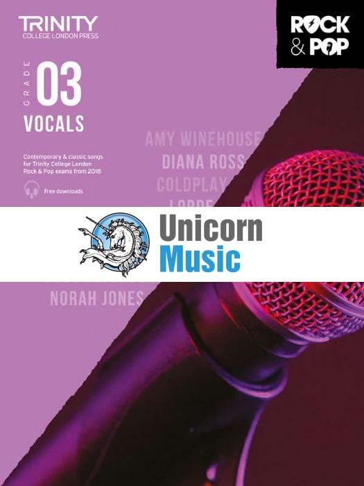 trinity rock pop 2018 vocals grade 3