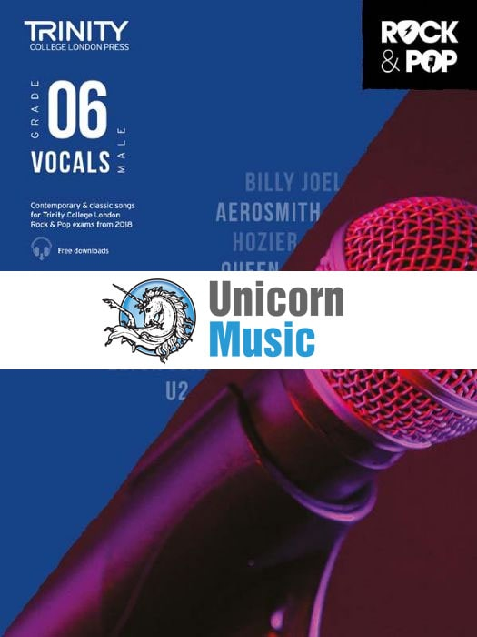 trinity rock pop 2018 vocals male grade 6