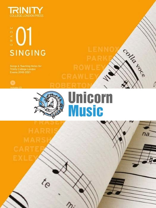 Singing Grade 1 2018 (with CD & teaching notes)