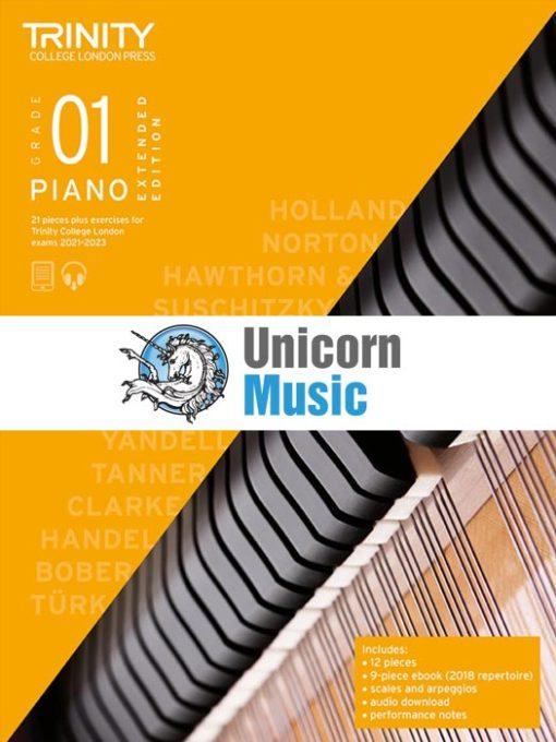 Trinity College London Grade 1 Piano 2021-2023