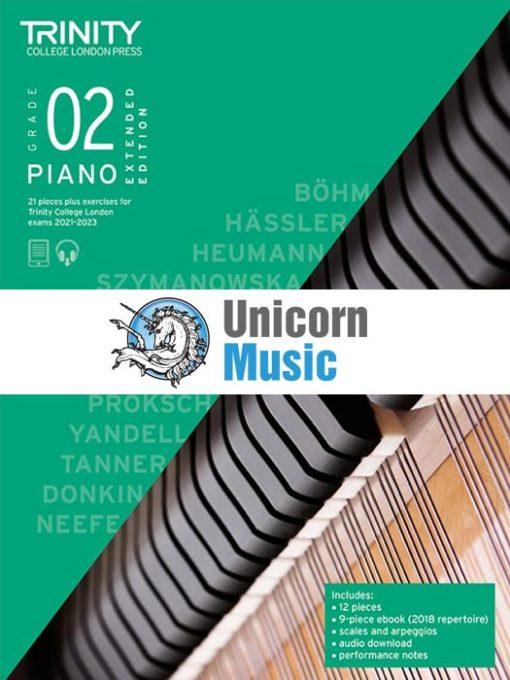 Trinity College London Grade 2 Piano 2021-2023