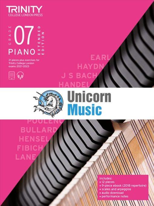 Trinity College London Grade 7 Piano 2021-2023