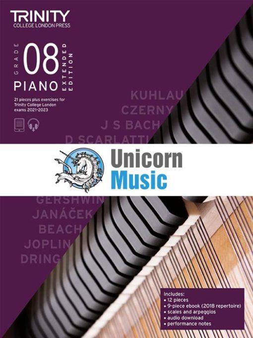 Trinity College London Grade 8 Piano 2021-2023